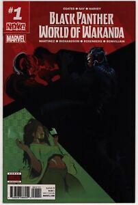 Black Panther World of Wakanda #1, NM 9.6, 1st Appearance Mistress Zola