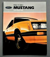 ORIGINAL 1982 FORD MUSTANG BROCHURE ~ SUPERB ~ 20 PAGES ~ 82MUST