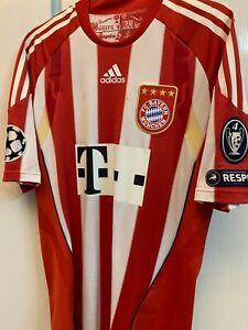 Official adidas fc Bayern Munich 2009-2010 home CL version jersey trikot shirt