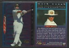 FUTERA 1996 CRICKET ELITE MARK WAUGH TEST HEROES CARD No 35