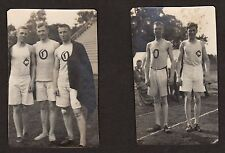 (6) 1907 Oberlin College TRACK & FIELD Vintage Photos