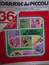 Corriere dei Piccoli 21 1978 paginone centrale con gioco  [C20]