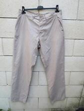 Pantalon CHEVIGNON coton beige pant W 36 F 46
