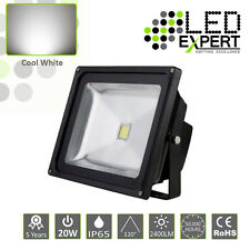 4 x LED Expert 20w LED Flood Light Security 5 Year Warranty IP65 Cool White CE
