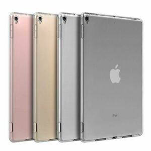 """iPad 7.9"""", 9.7"""", 10.5"""", 12.9"""" Case Soft TPU Ultra Clear Frosted Back Cover Case"""