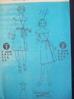 Vintage Simplicity Pattern 6333 Front Wrap Dress Size 14 Uncut FF 1970s NOS