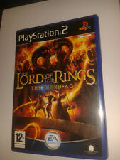 * Sony Playstation 2 Game * LORD OF THE RINGS THE THIRD AGE * PS2 N