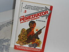 The Penetrator #9: Dodge City Bombers by Lionel Derrick Paperback Book
