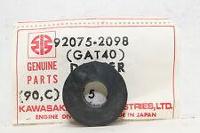 GAT00 GAT40 KAWASAKI (KB22) NOS OEM 92075-2098 DAMPER GROMMET