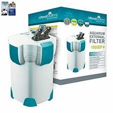 All Pond Solutions Aquarium External Fish Tank Filter 1000 Litre/ Hour Plus 18 w