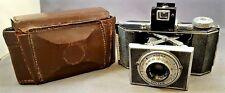 c1938 KODAK BANTAM CAMERA Angled Ends f/4.5 Anastigmat Special Lens, Leather Cas
