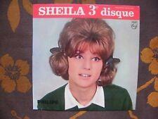 EP SHEILA - Pendant Les Vacances +3 / Philips 432.931 BE France (1963) Languette