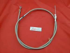 Harley-Davidson stainless Clutch Cable 08-13 Touring