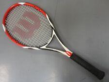 RARE! Wilson (K)Factor (K)Bold 100 sq.in. Tennis Racket Grip 4 3/8 VG!