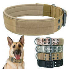 Nylon Dog Training Collars Soft Padded for Medium Large K9 Dogs German Shepherd