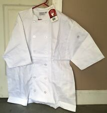 Chef works coats (white) Medium New with tag Professional kitchen