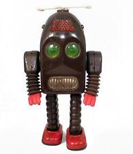 Original 1950s THUNDER ROBOT by Asakusa SEE VIDEO