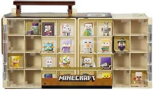Minecraft Mini Action Figure Desert Theme Collector's Storage Case