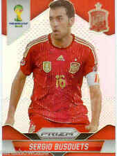 2014 World Cup Prizm Refractor Parallel No.174 S.BUSQUETS (SPAIN)
