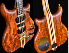 TIME CAPSULE! Alembic Series 1 Bass in Bubinga with DS-5, cable, etc. Vintage!  for sale