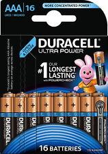16 Duracell Ultra Power AAA / Micro / MX2400 Alkaline Batterien im 16er Blister