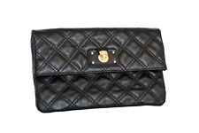 Authentic Marc Jacobs Black Leather Clutch