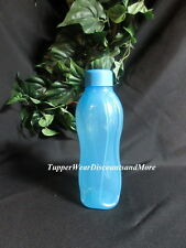 Tupperware NEW Small Blue Sports Water Tumbler Bottle Cup ECO 16 oz Twist Cap