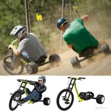 Drift Trike for Teens and Older Big Wheel Bike Moto Kart Style Outdoor Tricycle