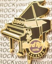 Hard Rock Hotel ORLANDO 2009 Tattoo INSTRUMENT Series PIN #1 Grand Piano #46943