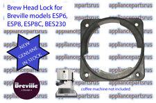 Breville Coffee Machine Brew Head Lock ESP6 ESP8 BES230 Part ESP8C/137 - GENUINE