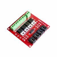 4 Channel 4 Route MOSFET Button IRF540 V4.0+ MOSFET Switch Module For Arduino EW