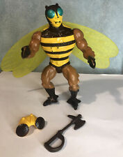 He-Man Vintage 1980s MOTU BUZZ OFF Masters of the Universe 100% Complete
