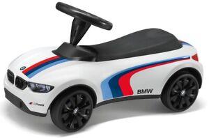 BMW Baby Racer III Motorsport weiß/rot/blau Bobby Car Rutschauto Geschenk