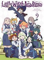 NEW Little Witch Academia Vol.9 First Limited Edition Blu-ray Booklet Card w/Tr
