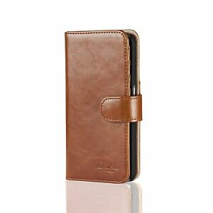 Samsung Galaxy S7 Magnet Wallet Case Brown Cash Credit Slots by Ideal of Sweden