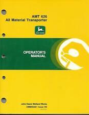 JOHN DEERE AMT 626 ALL MATERIAL TRANSPORTER OPERATORS MANUAL