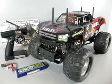 Tamiya RC 1/10 Agrios Monster Truck TXT-2 +Traxxas Waterproof ESC +Lipo Battery