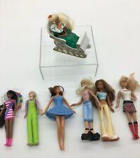 McDonald's Mini Barbie Lot Of 7 From 1995-2008