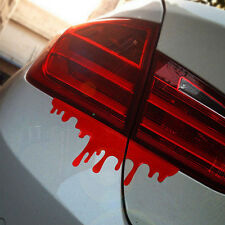 1 X Fashion Bleeding Car Stickers Reflective Waterproof Car Decals Auto WB