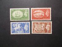 GB 1951 Festival High Values Stamps Set~Mounted Mint Set~UK Seller