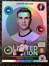 Panini EURO 2016 Adrenalyn XL MARIO GOTZE Germany LIMITED EDITION Football Card