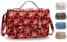 Ladies Satchel Bags Girls School Bags Large Office Travel Handbags Faux Leather
