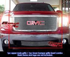 Fits GMC Sierra 1500 Billet Grill Combo 2007-2012