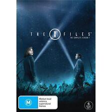 THE X FILES.-Season 1-Region 4-New AND Sealed- 6 DVD Set-TV Series