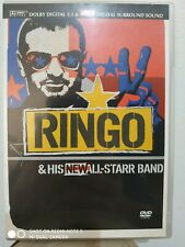 RINGO & HIS NEW ALL-STARR BAND DVD COME NUOVO
