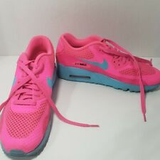 NIKE AIR MAX 90 LTR (GS) SIZE US 7Y #833409-600 Pink Blue