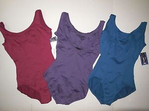 CAPEZIO BX201 Tank Princess Seamed Dance Leotard Ladies sz 3 colors offered
