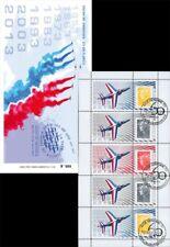 PAF13-C1 : 2013 - Carnet Porte-timbres 60 ans Patrouille de France