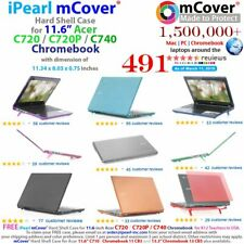 Ipearl Mcover Chromebook Case - Chromebook - Blue - Polycarbonate