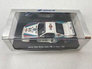 1/43 Spark Lancia Beta Monte Carlo Le Mans 1981